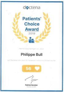 Patients' Choice Award